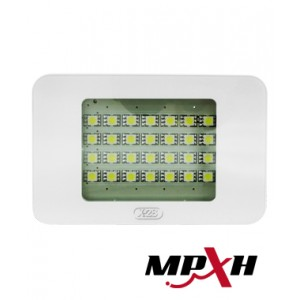LE28 MGT MPXH Luz de emergencia de 20leds con llave tactil